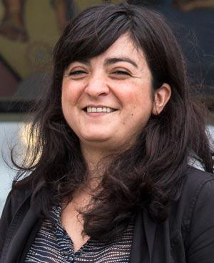 Bilde av Natalia Zubillaga, nestleder i LO i Oslo.