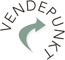 Vendepunkt. Logo.