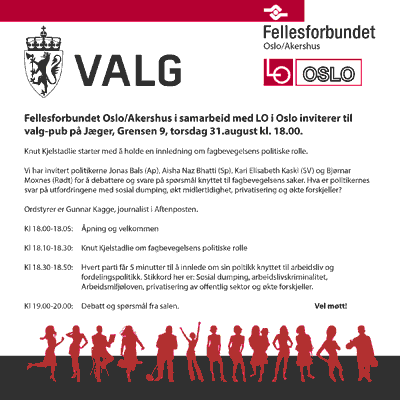 Plakat for valgpub.