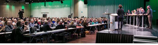 Bilde fra Broen til framtiden-konferansen 2017.
