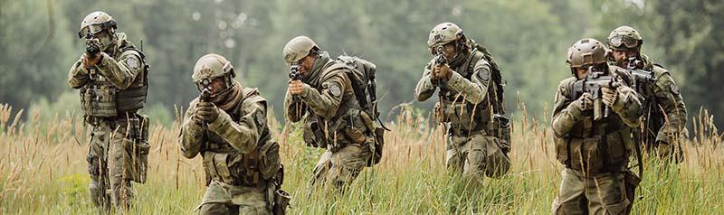 Bilde av soldater.
