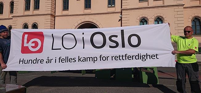Bilde av LO i Oslos logo.