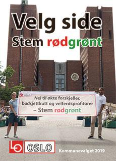Bilde av forsiden på hefte med noen av spørsmålene LO i Oslo har stilt til de politiske partiene i Oslo og partienes svar.